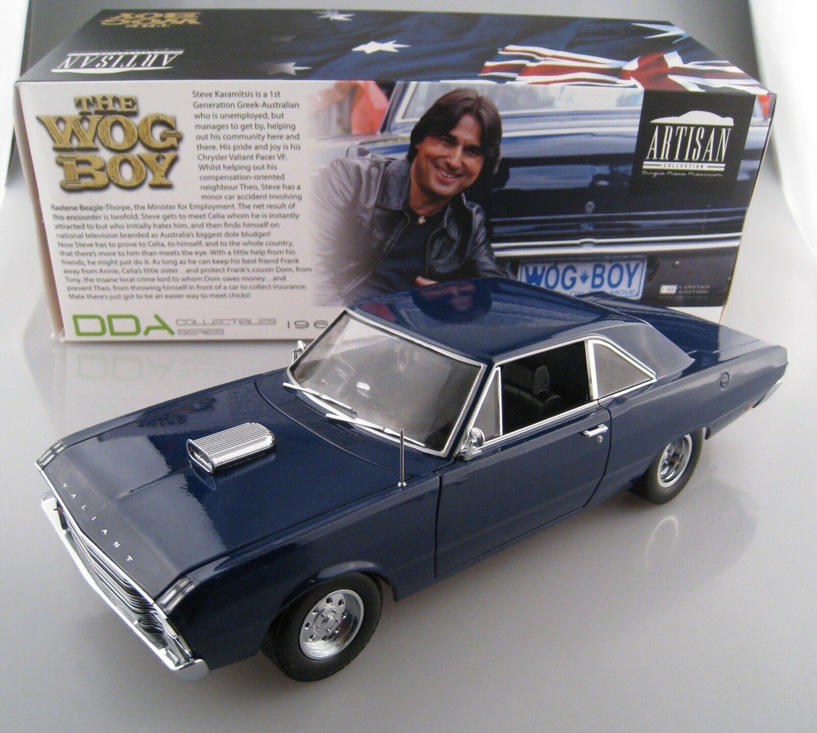 CHRYSLER Valiant VF the WOG Boy Blau 1969 Grünlight 1 18 New Limited