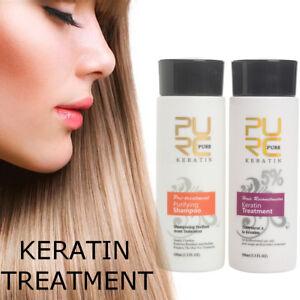 2Pc-Brazilian-Blow-Dry-Hair-Straightening-Keratin-Treatment-Shampoo-100ml-Kit