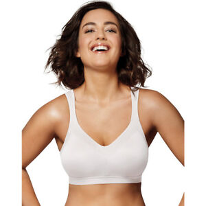 1d95c6f870b6b Playtex 18 Hour Active Lifestyle Wirefree Bra 4159 White 36 D
