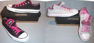 Converse-Chuck-Taylor-CT-Women-Double-Tongue-Ox-Shoes-SIZES-COLORS-NIB
