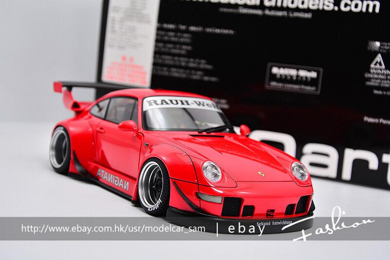 Autoart 1 18 Porsche 911 993 RWB Lb rojo