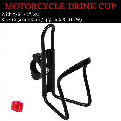 Black Bottle Drink Cup Holder For Suzuki TL1000R TL1000S Burgman Shuttle FA50