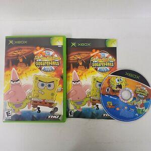 The Spongebob Squarepants Movie Game Original Xbox Complete Fast Shipping