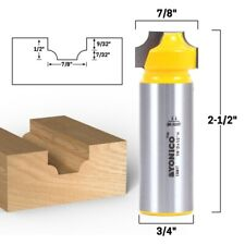 732 Radius Round Over Groove Router Bit 34 Shank Yonico 13081t