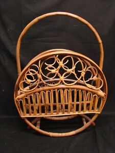 Old-Newspaper-Holder-Magazine-Rack-in-Bamboo-Design-Modern-Antiques-Vintage