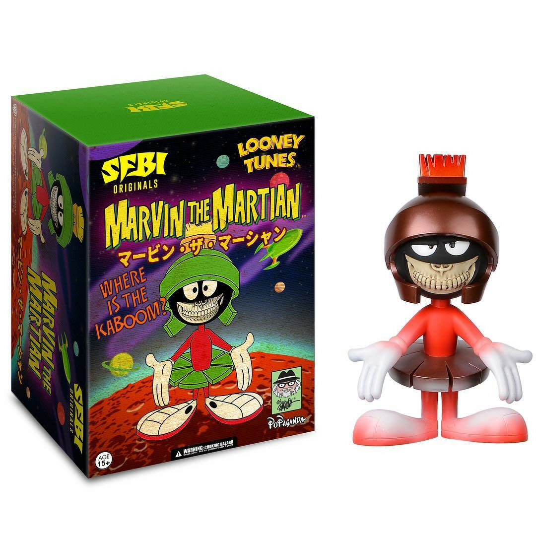 BRAND NEW SFBI Originals Ron English Marvin Marvin Marvin The Martian PINK CON EXCLUSIVE  18d000