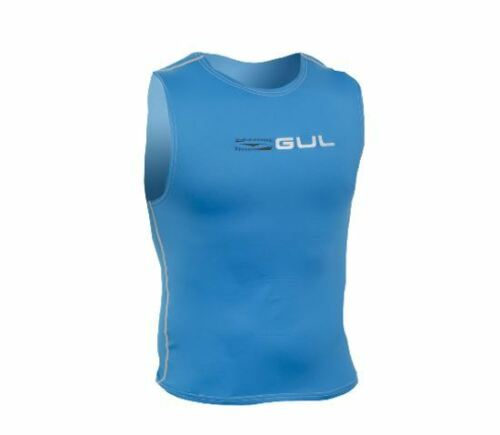Details about  /GUL MENS RACE sleeveless Rash Vest Guard UV50 Canoe SUP Kayak Swim Sail Surf Top