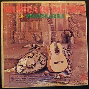 Mariachi-Aguila-034-Musica-de-Mexico-034-Vinyl-Record-LP