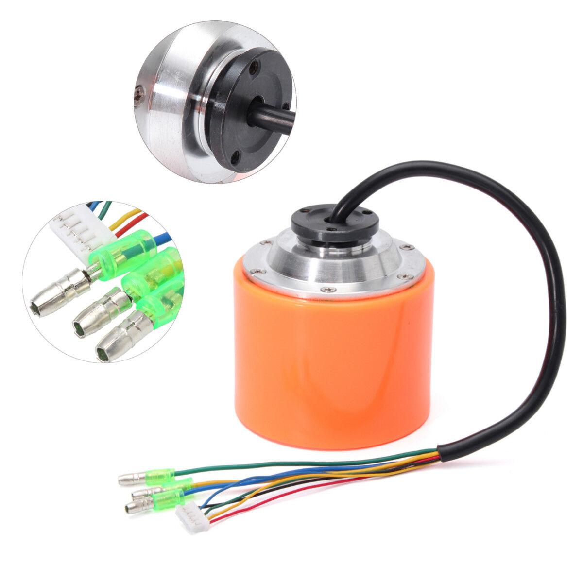 70MM Brushless Motor Sensor Nabenmotor Antrieb Für E-Skateboard Longboard 24-36V  | Günstigen Preis