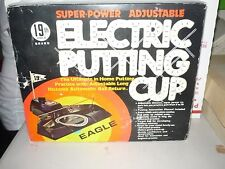1981 Vintage 19th HOLE Super-Power Adjustable ELECTRIC PUTTING CUP Eagle #1902