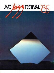 JVC-JAZZ-FESTIVAL-1985-TOUR-CONCERT-PROGRAM-BOOK-GRUSIN-RITTENOUR-JORDAN-CLARKE