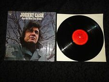 Vintage Vinyl LP Johnny Cash 'Any Old Wind That Blows'  Record - FREE SHIPPING