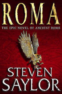 """AS NEW"" Saylor, Steven, Roma (Rome 1), Paperback Book"