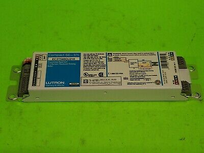 LUTRON H3DT524CU210 Dimming Ballast,120-277 V,21-5//8 In Lamp New Open Box