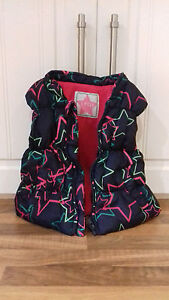 Independent 12/18mth Fleecelined Padded Gilet Bodywarmer With Pink Fleece Lining & Zip Front Girls' Clothing (newborn-5t)
