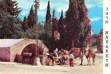 B95426 nazareth public well chamel camel  israel