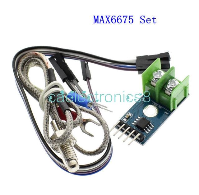 MAX6675 Module + K Type Thermocouple Temperature Sensor for Arduino