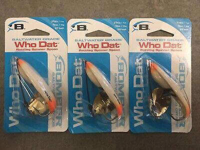 P-B-R Super Walleye Rattling Fishing Lure Spoon 5//8 OZ