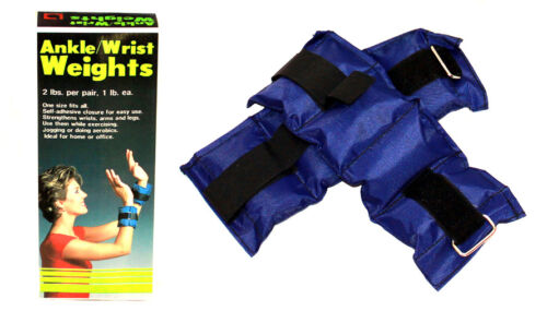 Ankle// Wrist Weights 2 LBS// Pair