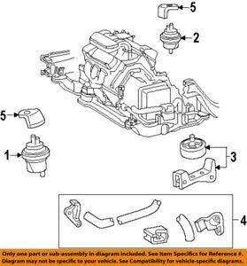 ford oem 96 98 windstar engine motor mount torque strut f68z6f063aa 2000 ford windstar 3.8 engine image is loading ford oem 96 98 windstar engine motor mount