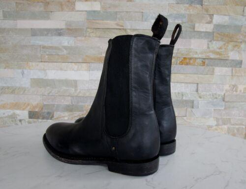 Taille Chaussures 5 Noir Bottines Vintage Patty Bottes Autrefois Neuf 38 Ash 6IwHd6