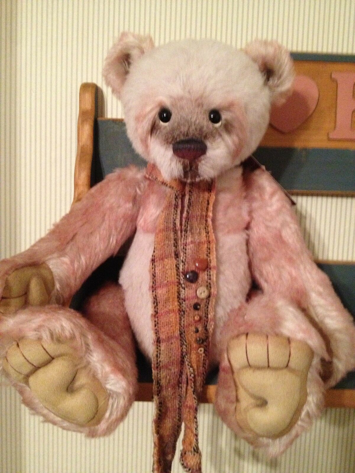 Charlie Bears SOLITAIRE 2012 Isabelle Mohair Collection FREE US SHIP