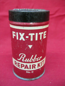 Vintage-Fix-Tite-Rubber-Repair-Tin-Can-No-0