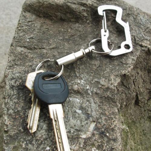 Abnehmbarer Schlüsselanhänger Für Außenbereich Schnellverschluss Mit