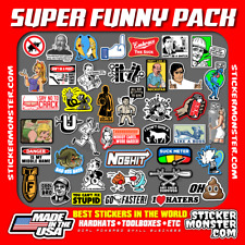 Super Funny Pack 40 Hard Hat Stickers Hardhat Sticker Amp Decals Hood Helmet