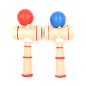 Kid Kendama Ball Japanese Traditional Wood Game Balance ...