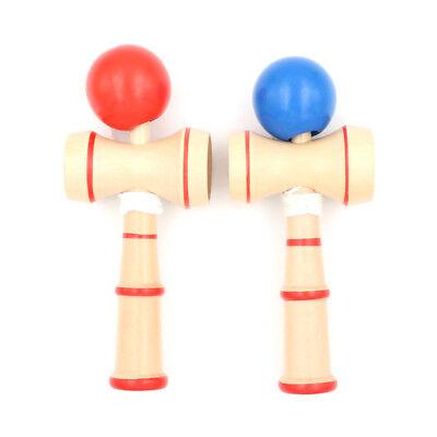 1 Jumbo Kendama Japanese Traditional Game Educational Skillful Wooden Toy@fP .YU