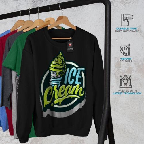 Men Ice Black Cream New Sweatshirt OnAZwv