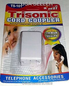 Line-Coupler-Connector-Telephone-Extension-Adapter-for-Phone-NEW