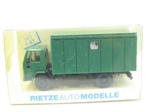 MW3804 RIETZE 60124 POLIZEI Pferdetransporter OVP