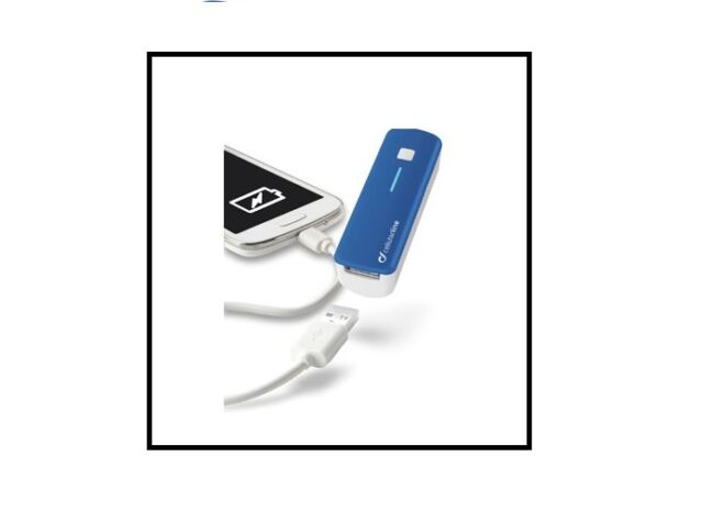 POWER BANK CARICA CELLULAR LINE 2200 mAH x SMARTPHONE e TABLET