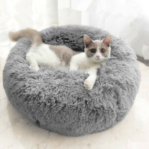 Peluche-douce-lit-de-chien-lavable-moelleux-coussin-chaud-luxe-chat-chiot-tapis