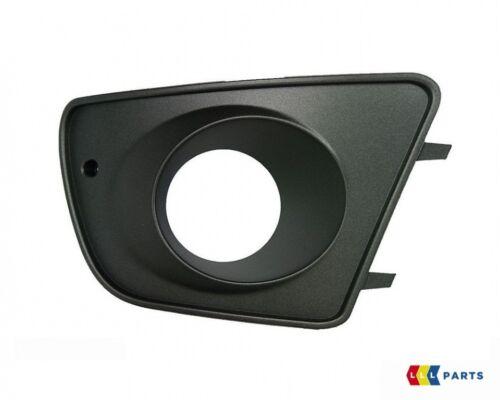 NEW GENUINE SEAT IBIZA CUPRA 02-10 FRONT BUMPER RIGHT O//S FOG LIGHT GRILL BLACK