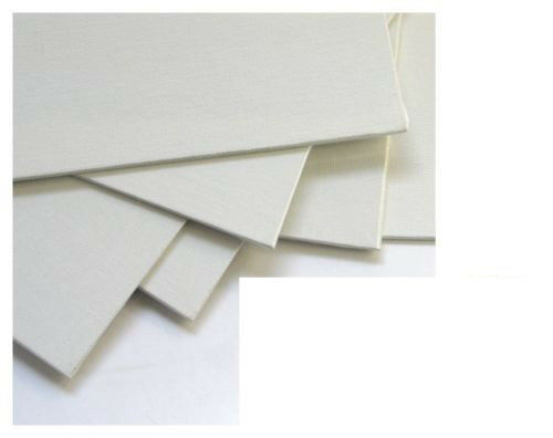 """3 PANORAMIC 24/"""" X 12/"""" BLANK LOXLEY CANVAS ACRYLIC PAINTING BOARDS 610mm x 305mm"""