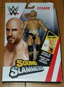 WWE Sound Slammers-Cesaro  wrestling Action Figure  Mattel NEW