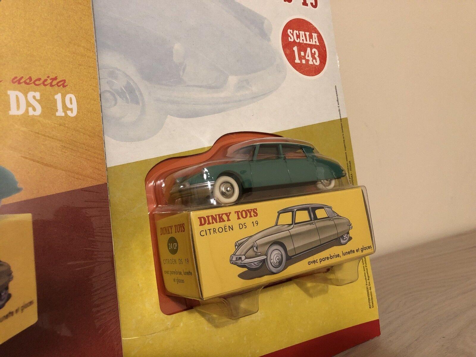 Modellino Dinky Toys Atlas Citroen DS 19 19 19 De Agostini scala 1 43 04eb4f