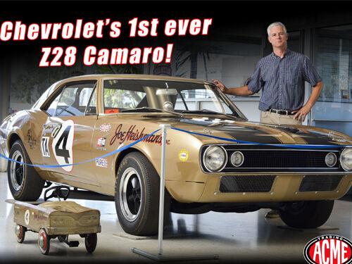 Première 1967 Chevrolet Camaro Z 28  4 50TH Anni. 700PCS 1 18 ACME A1805703