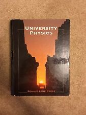 University Physics by Ronald Lane Reese (1999, Hardcover); Excellent Condition!