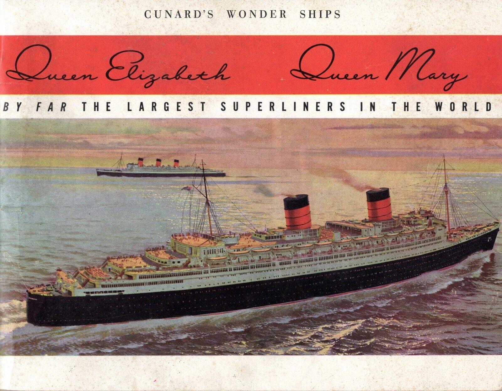 Cunard's Wonder las Naves Reina Mary-Queen Elizabeth  - Nautiques las Naves