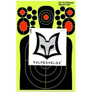 Silhouette High Visibility UV Splatter Shooting Targets - 25 pack
