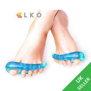 2-pcs-Toe-Separators-Stretchers-Straighteners-Alignment-Bunion-Gel-Pain-Relief
