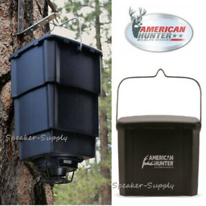 Details about American Hunter 60Lb Collapsible Hanging Digital Nesting Game  Deer Feeder NF60