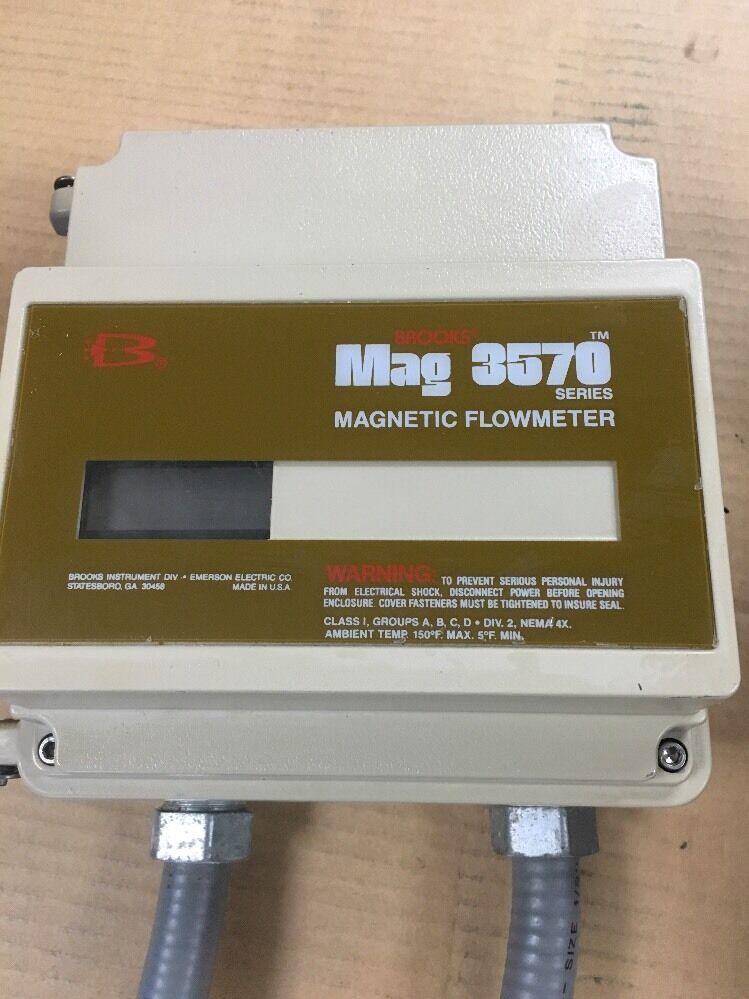 NEW BROOKS WAFER-MAG MAGNEHELIC FLOWMETER SO26722-100 FLOWTUBE
