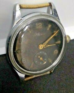 Vintage-Militaer-Stil-Kama-Vostok-ww2-Retro-Uhr-selten-1958-chchz-UdSSR