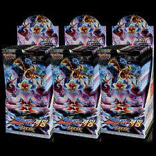 Jeu de Cartes Pokemon XY Impact des Destins 90 Boosters Pack Display Box Coréen