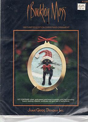 P Buckley Moss Christmas Cross Stitch Ornament Kits You Choose